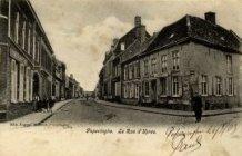 Poperinge: café 'De Drie Koningen' begin Ieperstraat