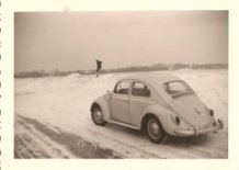 Koksijde: winterbeelden uit 1963
