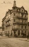 De Panne: het Grand Hôtel des Arcades van weduwe Six