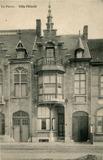 De Panne: villa Félicité, het familiepension van juffrouw Hugon
