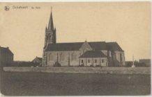 Dikkebus: kerk gebouwd na Eerste Wereldoorlog