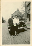 Vladslo: huwelijk Godelieve Huyghe en Maurice Ryckx