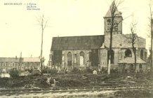 Reningelst: kerk en spoorweg