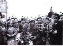Woesten: bevrijding Tweede Wereldoorlog