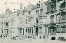 De Panne: 7 van de 15 villa's tussen Walckierstraat en Mijnstraat