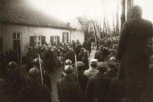 Houtem: begrafenisstoet Generaal Wielemans en koning Albert I