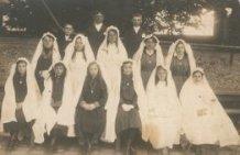 Boezinge : plechtigecommunicanten in Frankrijk