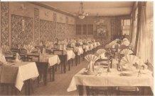 De Panne: eetzaal van het Grand Hotel Central