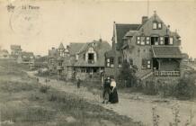 De Panne: villa's in de Visserslaan
