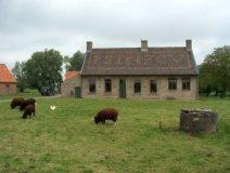 Werken: oude boerderij