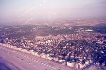 De Panne: luchtopname kort vóór de Westhoekverkaveling