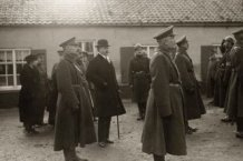 Houtem:  begrafenisstoet van Generaal Wielemans