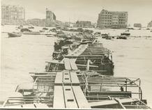 De Panne: geïmproviseerde loopbruggen tijdens Operatie Dynamo