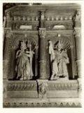 Oostvleteren: de St-Amatuskerk vóór de brand