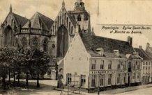 Poperinge: Sint-Bertinuskerk en Botermarkt