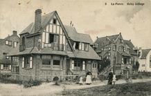 De Panne: cottages in de Visserslaan