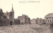 Zonnebeke: heropbouw 1924