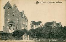 De Panne: verdwenen villa's Costebelle, Donny en les Peupliers