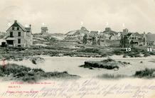 De Panne: panorama met de lens naar het zuidzuidoosten, circa 1901