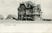 De Panne: Villa's les Elymes en les Glacis, vroege bebouwing op de Zeedijk