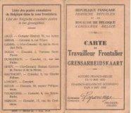 Poperinge: grensarbeidskaart
