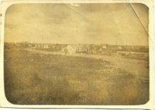Langemark: dorpsgezicht Eerste Wereldoorlog