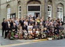 Zillebeke: zilveren jubileum burgemeester Louis Robbe