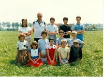 Pollinkhove: klasfoto juni 1985
