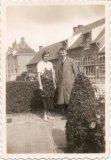 Hollebeke: gemeentesecretaris Achille Breyne met zijn vrouw
