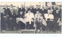 Brielen: op de foto na de stoet voor de nieuwe pastoor