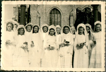 Pollinkhove: plechtige communie in 1948