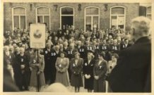Krombeke: veteranenhulde Leopold II