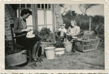St.-Idesbald: het gezin Calcoen uit De Panne woont tijdens de oorlog in een villaatje