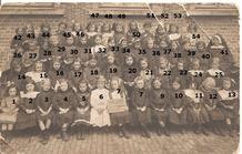 De Panne: klasfoto 1913