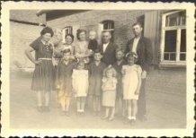 Hollebeke: uitbaters van de hoeve Verstraete in 1944