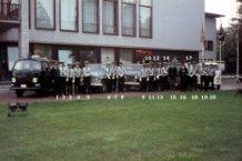 De Panne: politiekorps circa 1971