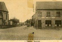 Vladslo: zicht op de Beerststraat