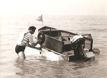 De Panne: amfibieboot