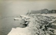 De Panne: de strenge winter verrast de vissers