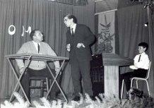 Hollebeke: scène uit de eerste revue in 1969