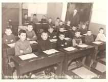 De Panne: klasfoto derde leerjaar Rijkstechnisch Instituut 1962-1963