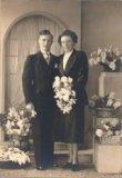 Reninge: huwelijk uitbaters 'Het Voshol' 1949