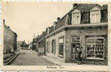 Bulskamp: inkijk Nieuwstraat vanuit huidige Bulskampstraat