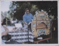 Wulpen: het landelijk feest van 1985 wordt opgeluisterd met orgelmuziek.