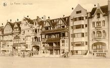 De Panne: Villa l'Escale, 1924, eerste moderne gebouw op de dijk