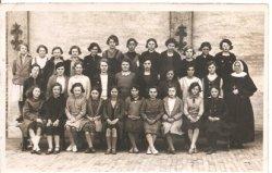 De Panne: klasfoto 'Zusterschool'