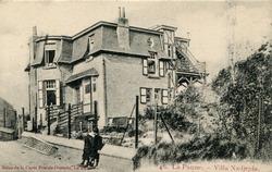 De Panne: villa Nadiejda in de Hoge Duinenlaan