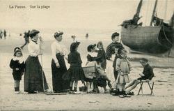 De Panne: toeristen gaan op garnalenvangst