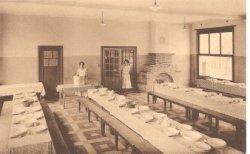 De Panne: eetzaal kostschool 'Panne Instituut'