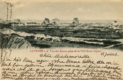 De Panne: zicht op een klein deel van de Bortierduinen
